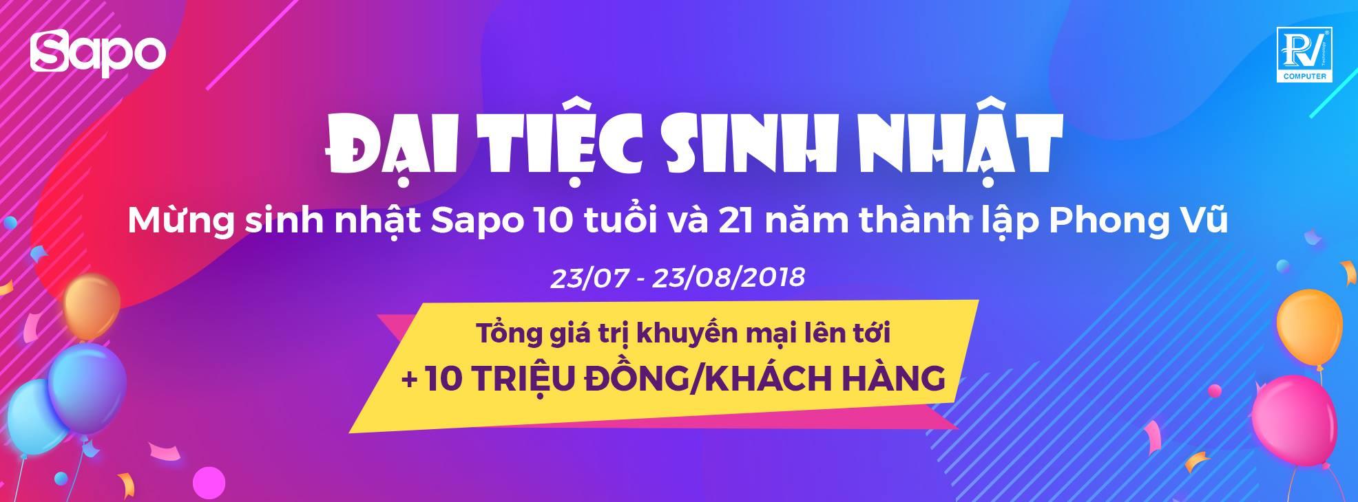 Sapo.vn – Ưu đãi lên tới hơn 7,000,000đ cho mỗi khách hàng