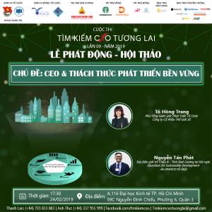 """SỰ TRỞ LẠI CỦA CUỘC THI """"TÌM KIẾM CEO TƯƠNG LAI"""" LẦN 09 – NĂM 2019"""