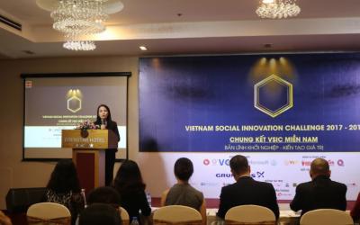 Chung kết VSIC khu vực miền nam: xu hướng khởi nghiệp với các mô hình kinh doanh chú trọng tác động xã hội
