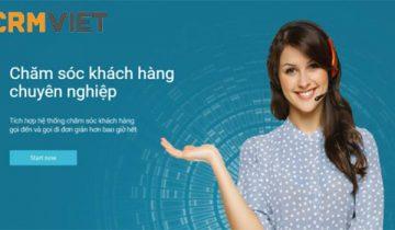 Dùng thử phầm mềm chăm sóc khách hàng CRM Việt