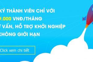 Cổng hỗ trợ khởi nghiệp Việt nam áp dụng Chương trình thành viên